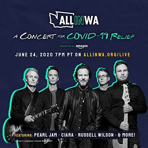 Watch All in Washington: A Concert for COVID-19 Relief Online