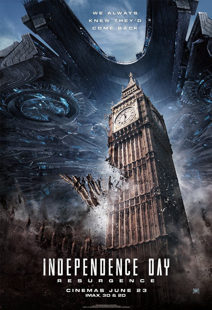 Watch Independence Day: Resurgence Online