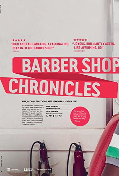 Watch National Theatre Live: Barber Shop Chronicles Online