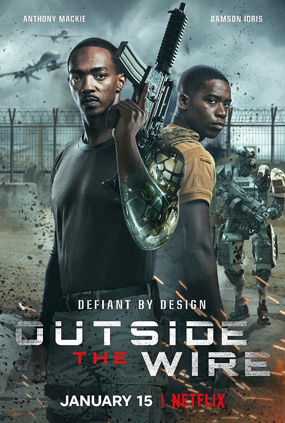 Watch Outside the Wire Online
