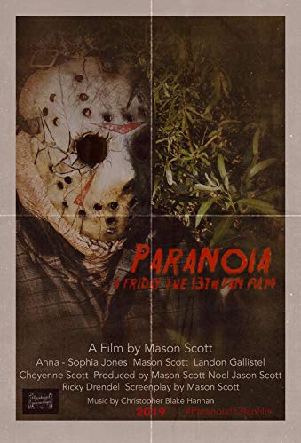 Watch Paranoia: A Friday the 13th Fan Film Online