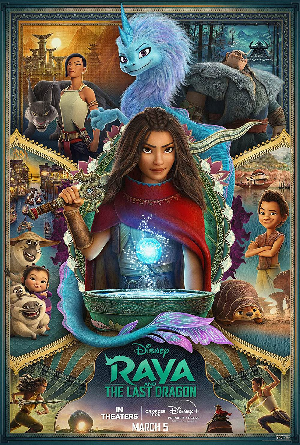 Watch Raya and the Last Dragon Online