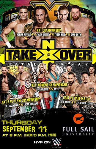 Watch WWE NXT Takeover: Fatal 4 Way Online
